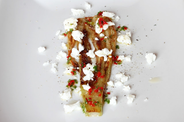 Delicious Tapas: Fennel with feta cheese & chili #76