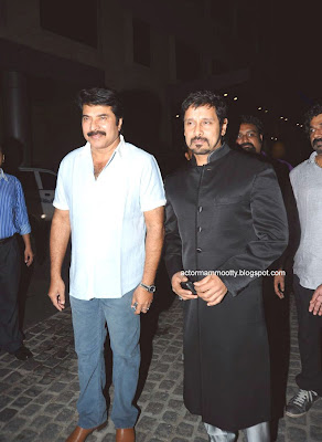 Mammootty at 58th Idea South Filmfare Awards 2011 stills