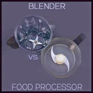 perbedaan blender dan food processor