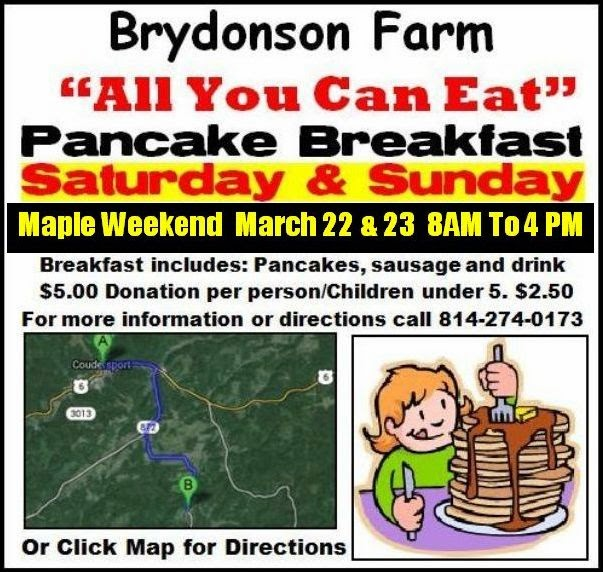 https://maps.google.com/maps?saddr=Brydonson+Farms,+1st+Fork+Road,+Coudersport,+PA&daddr=Coudersport,+PA+16915&hl=en&sll=41.721362,-77.941132&sspn=0.166308,0.363579&geocode=FYZZfAId8F1a-yE9L6YSt77njSkFzY9eSOLNiTE9L6YSt77njQ%3BFcRufQIdMIBZ-ylNWGysu_zNiTHLkb6GOSENWg&oq=Brydonson&mra=ls&t=m&z=13
