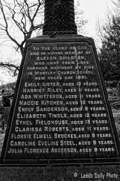 Fire Memorial Wortley Leeds