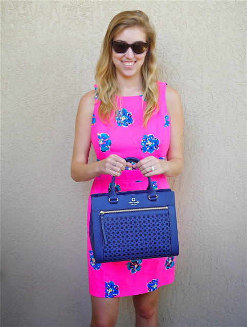 Hot Pink Lilly Pulitzer Navy Kate Spade