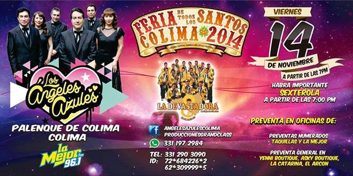 Feria de todos los santos colima 2014 programa