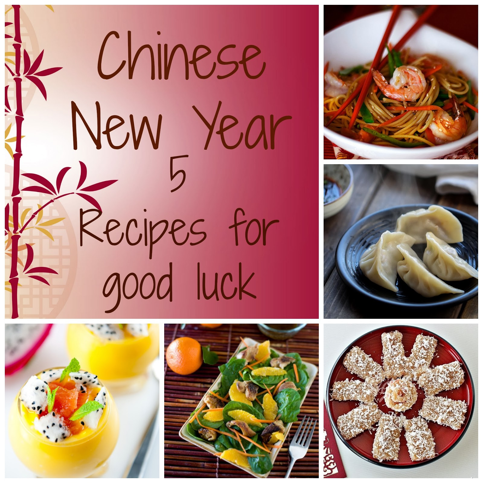 Chinese New Year good luck foods