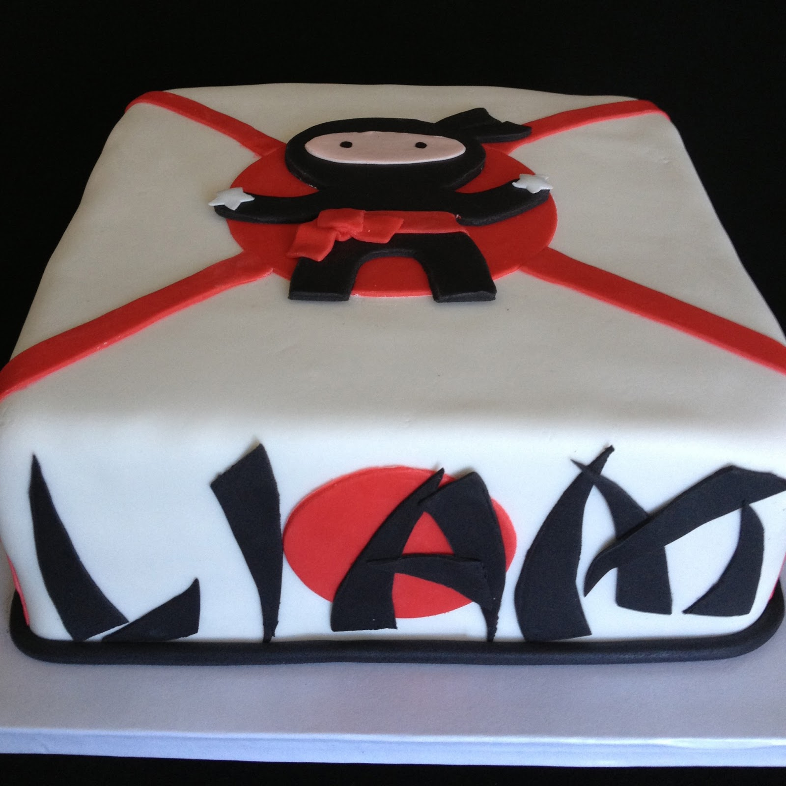 Laser Tag Themed Cake
