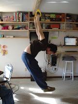 Barefoot Angie Bee Monkey Fitness