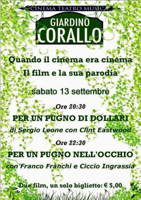 """""""QUANDO IL CINEMA ERA CINEMA... """" DI MIMMO MÒLLICA"""