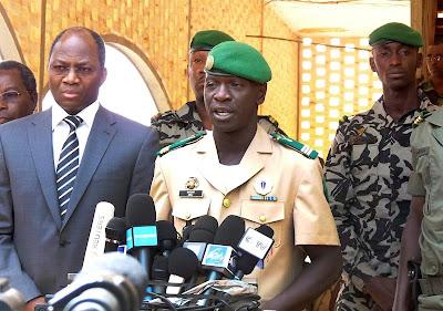 Junta militar entra em acordo com países vizinhos para pôr fim à crise política no Mali