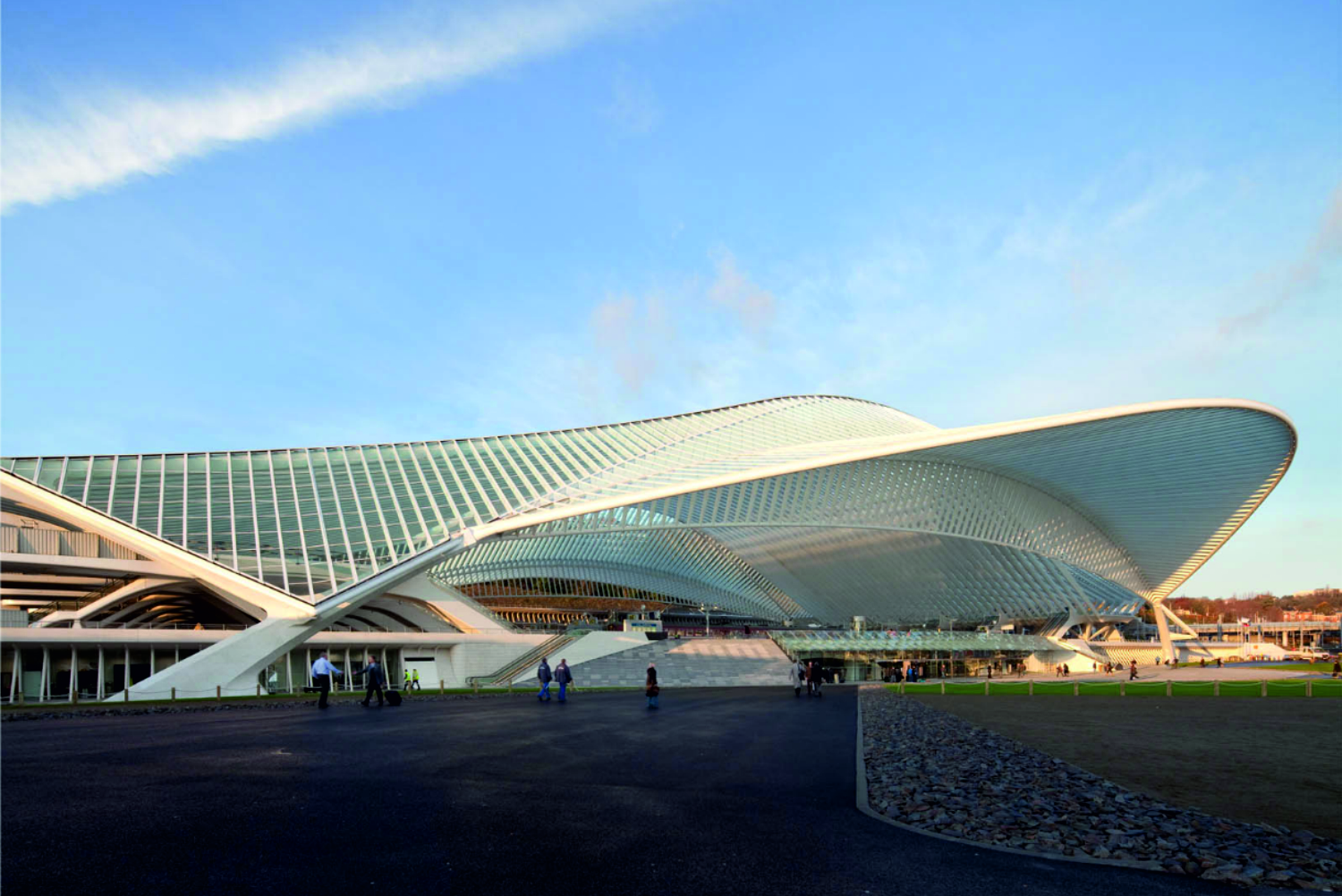 li ge guillemins station by calatrava a as architecture. Black Bedroom Furniture Sets. Home Design Ideas