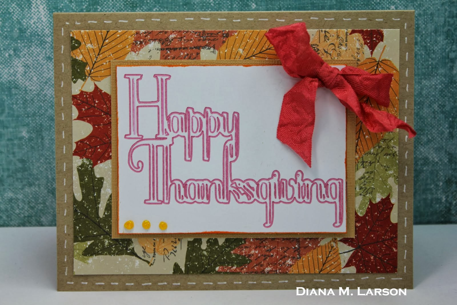 DL.ART THANKFUL THURSDAY #122 Thanksgiving challenge