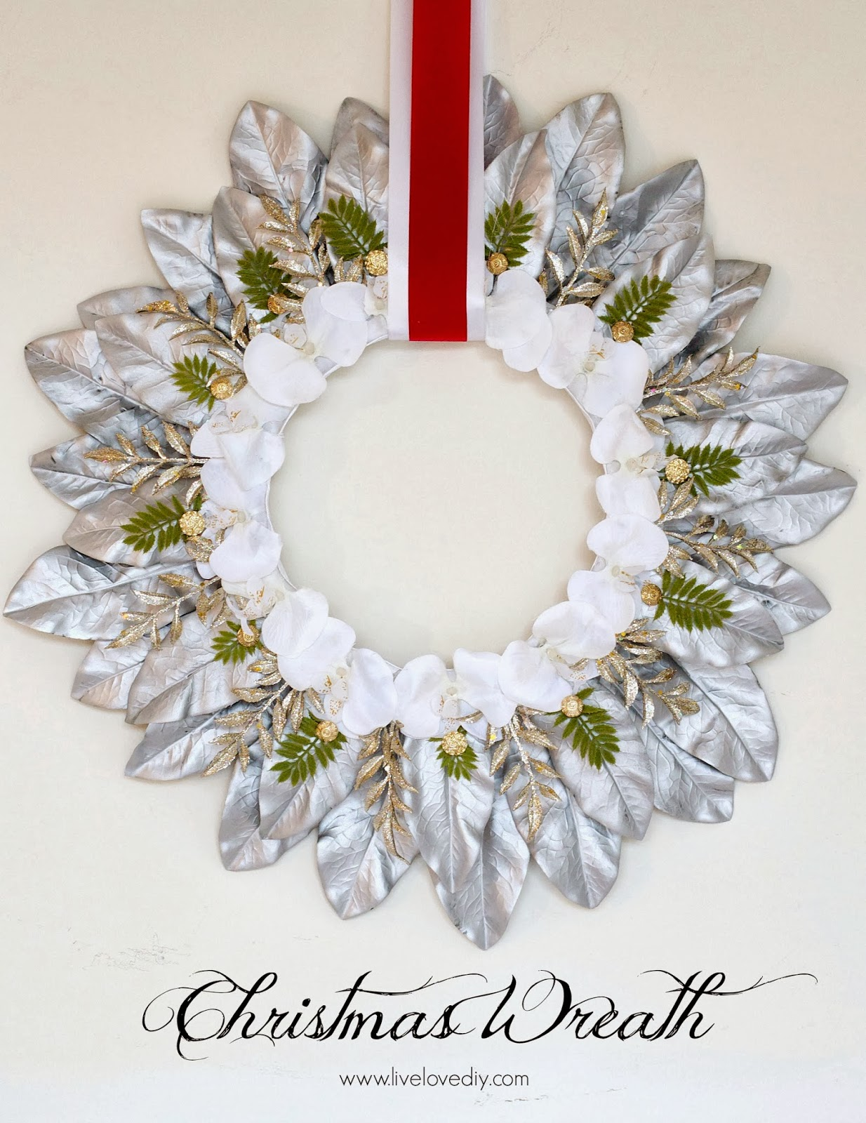 Livelovediy How To Make A Christmas Wreath