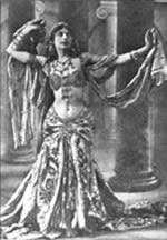 historia de la danza arabe