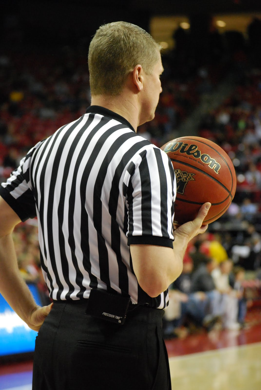 how to become a better basketball referee