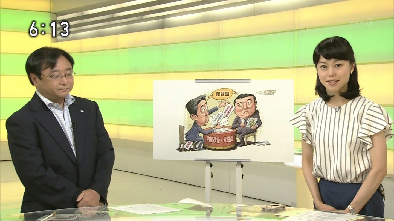 池田伸子 NHKニュースおはよう日本 2014年8月29日