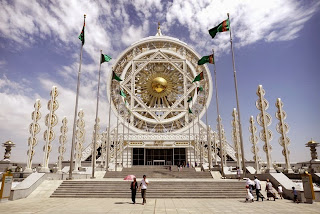 Ashgabat, Kota Megah Berlapis Marmer Putih