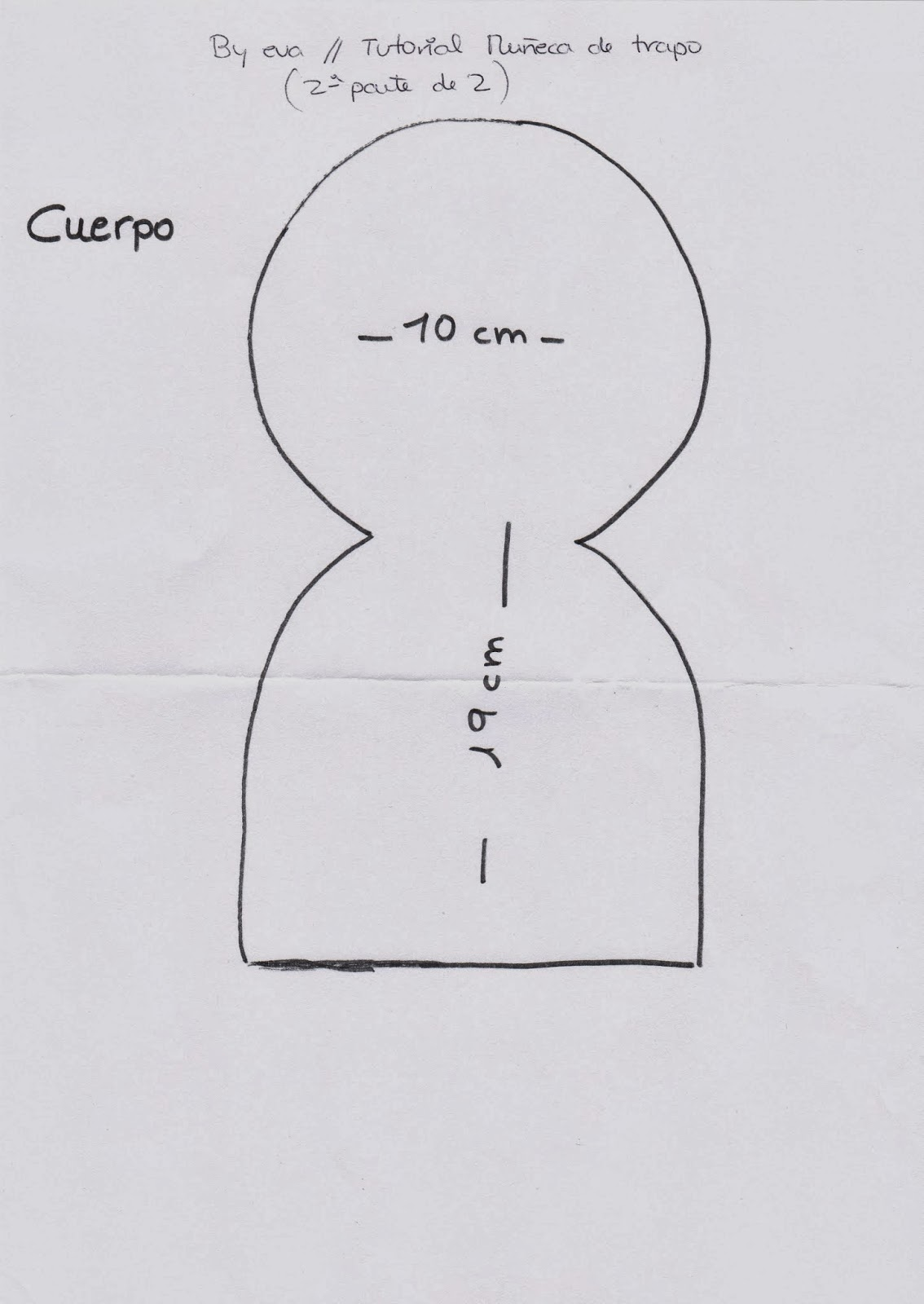 By eva: YOUTUBE: Tutorial muñeca de trapo