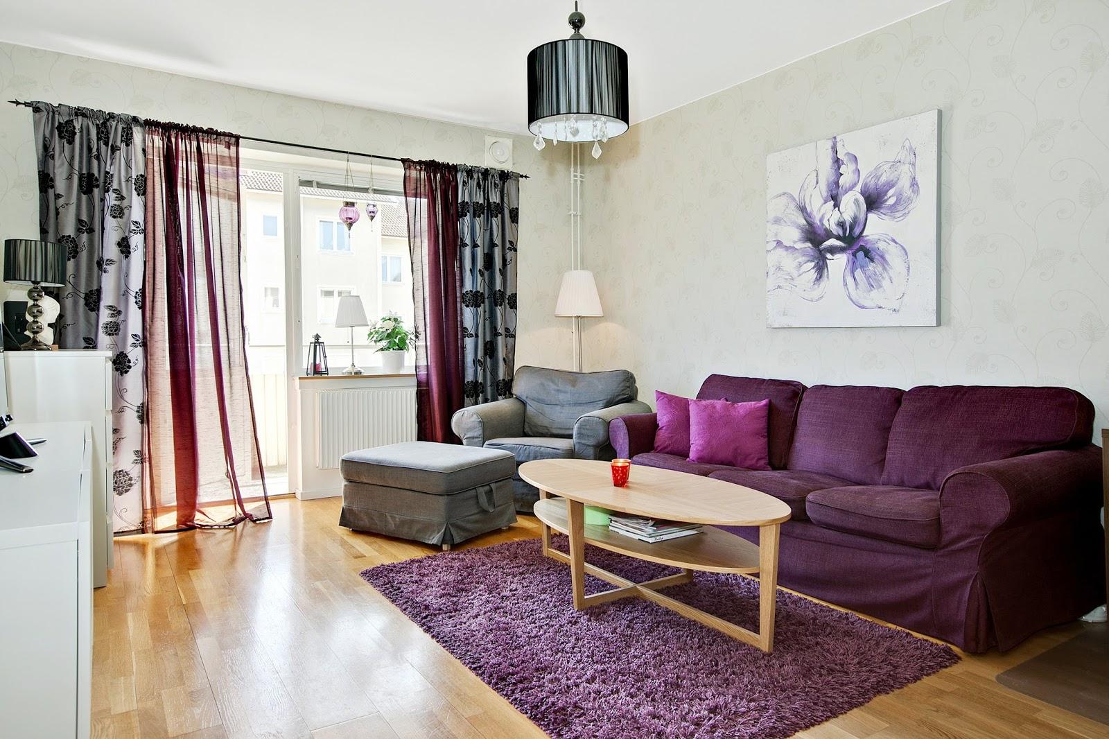 Sagor om Therése: Färgklick i vardagsrummet