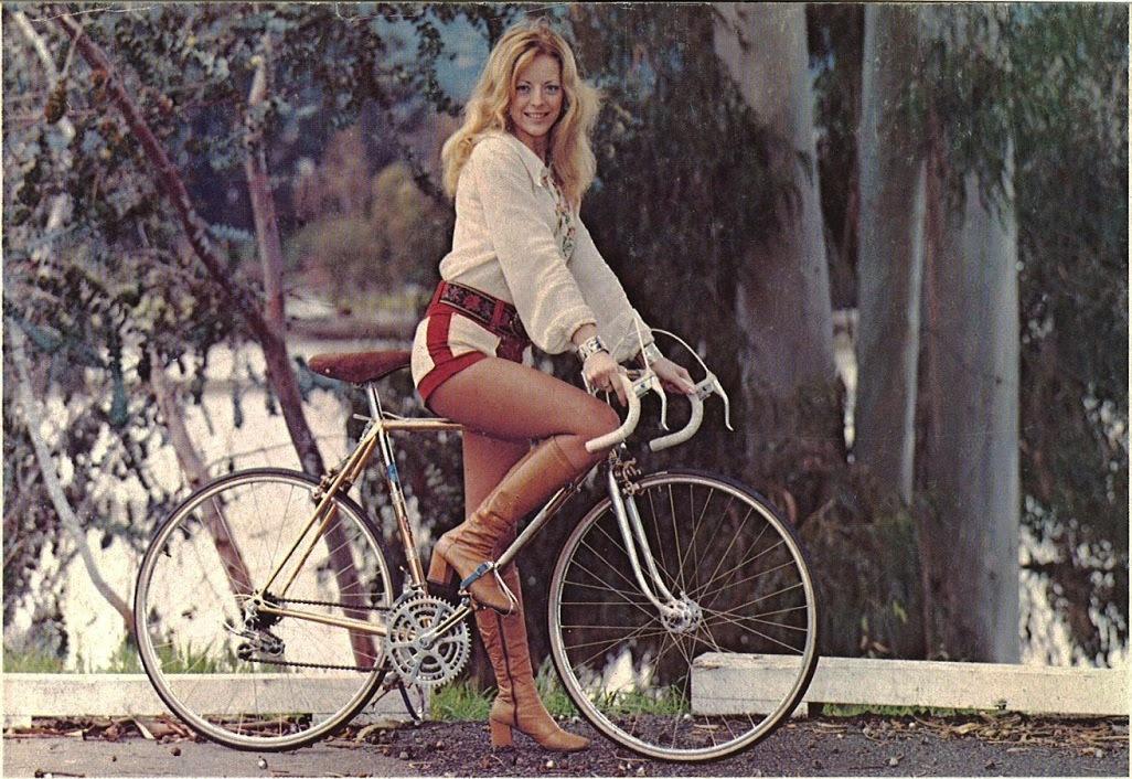 Sexy cyclist girls
