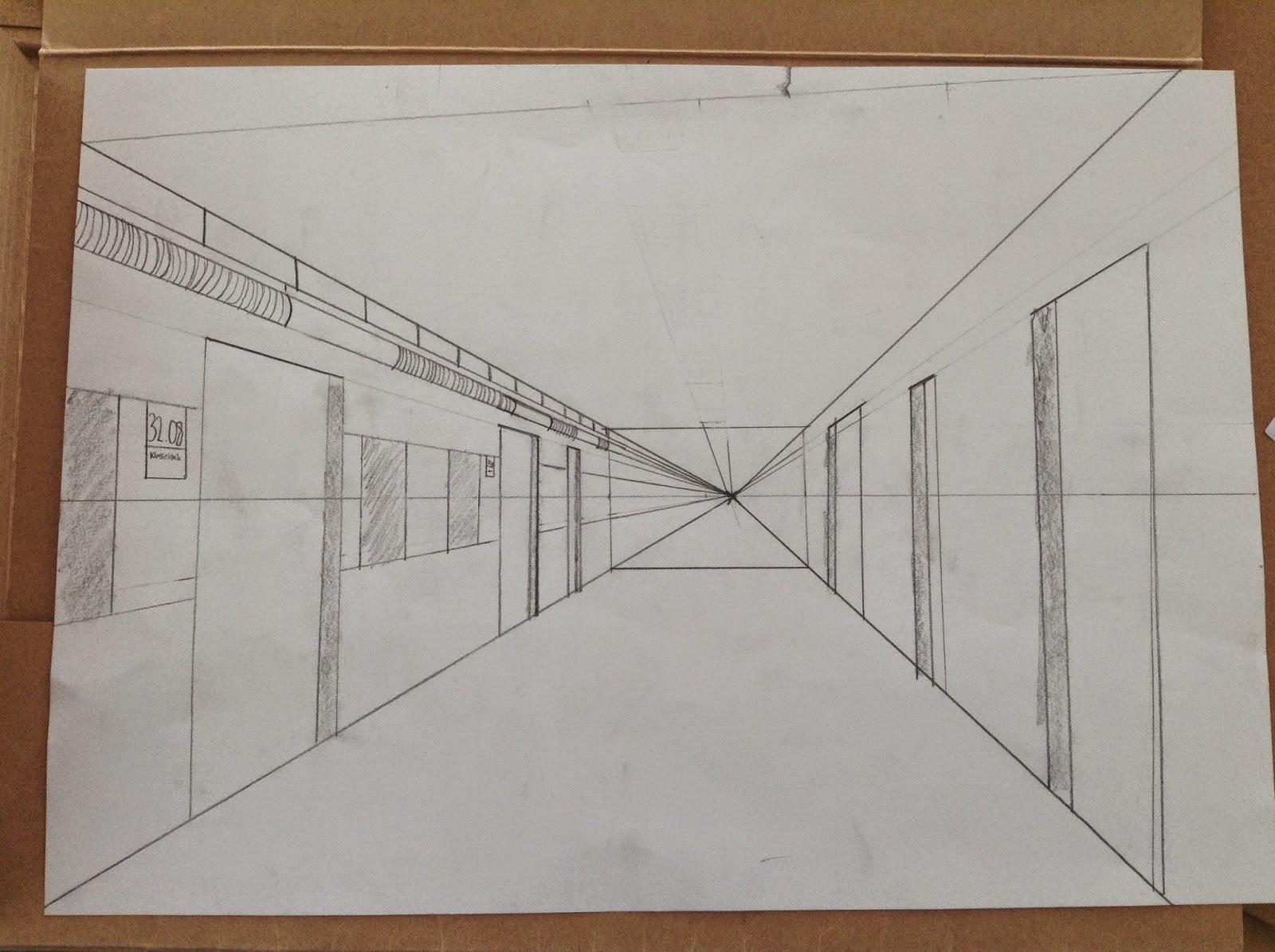 diagonal linjer i en firkant