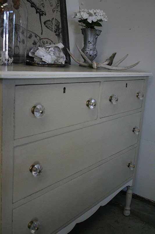 Reloved Rubbish Country Gray Dresser Redux