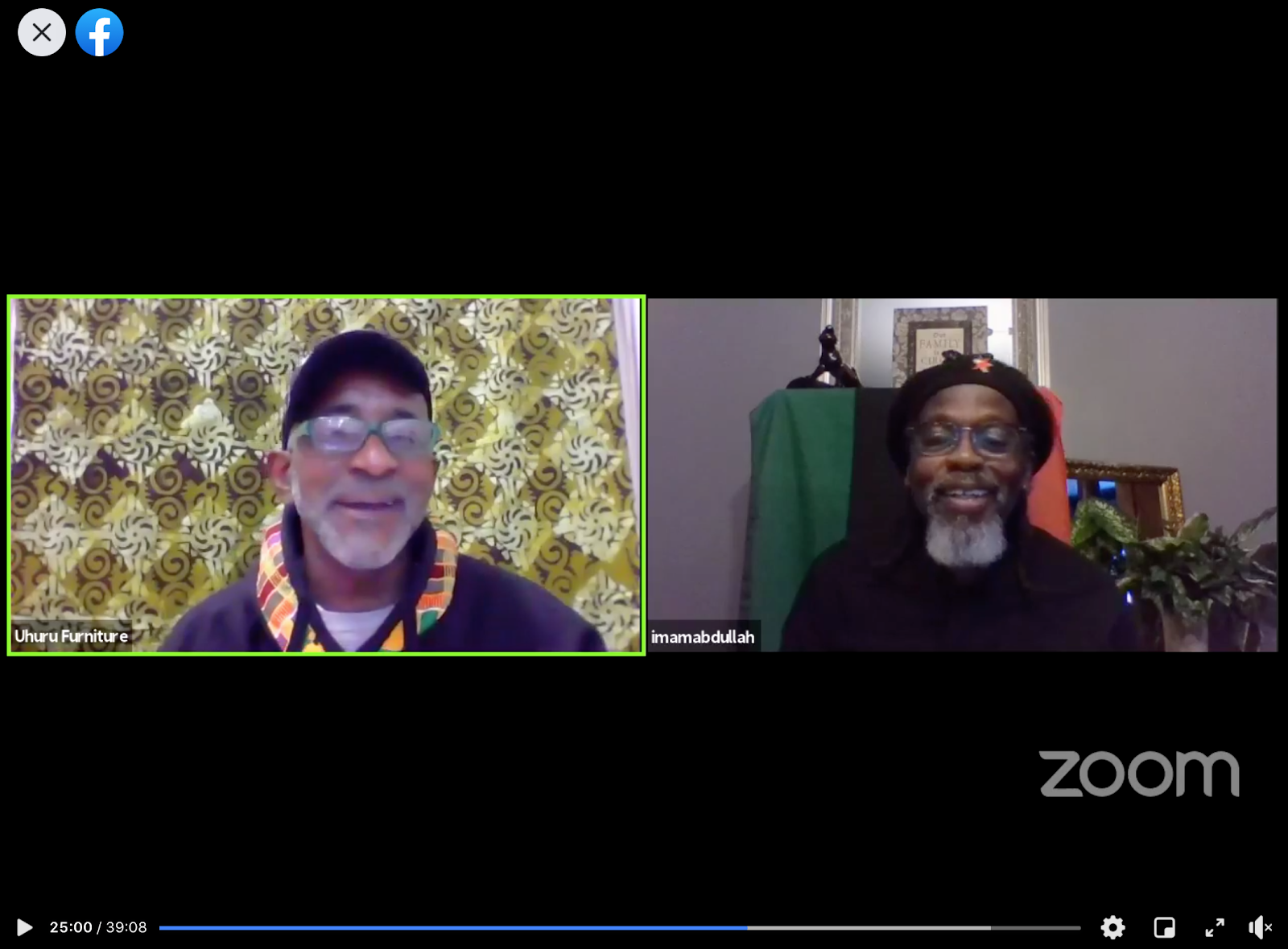 Black Power Blueprint LIVE Interview!