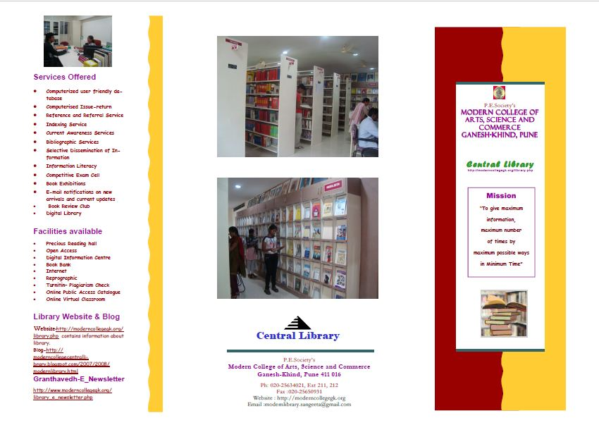 Library Brochure