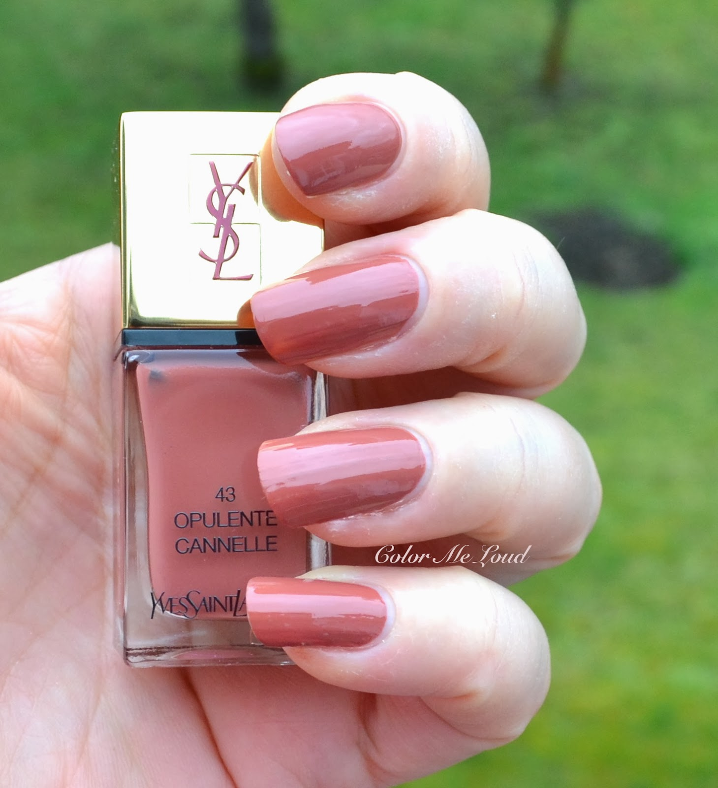 pictures YSL La Laque Couture Spicy Spring 2014 Collection
