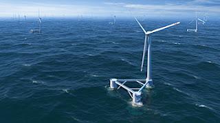 turbina eolica flotante en japon