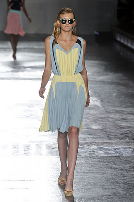 [Trend for SS12] Prada Pleated Dresses