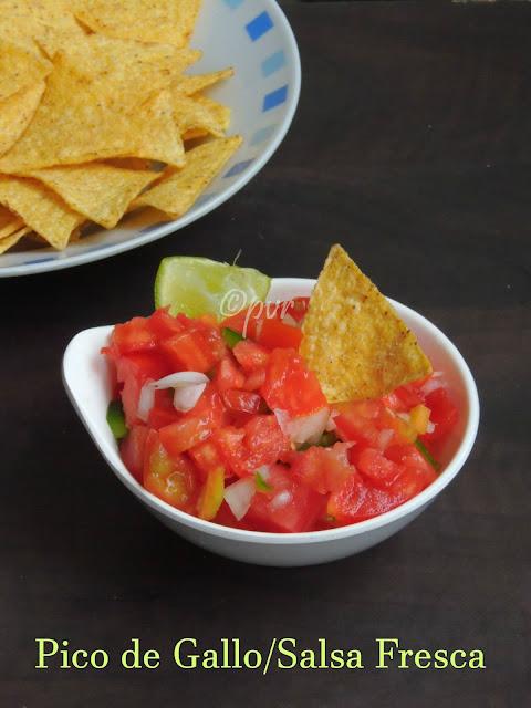 Pico de gallo, Salsa fresca, Salsa Mexicana