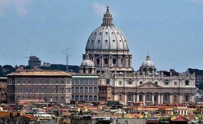 Roma, vista del Vaticano