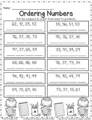 Math for 2nd grade