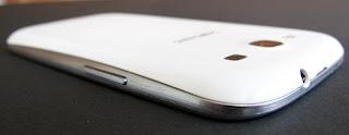 Parte posterior Samsung Galaxy III