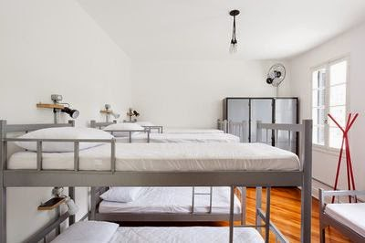 We Hostel, chambres dortoirs
