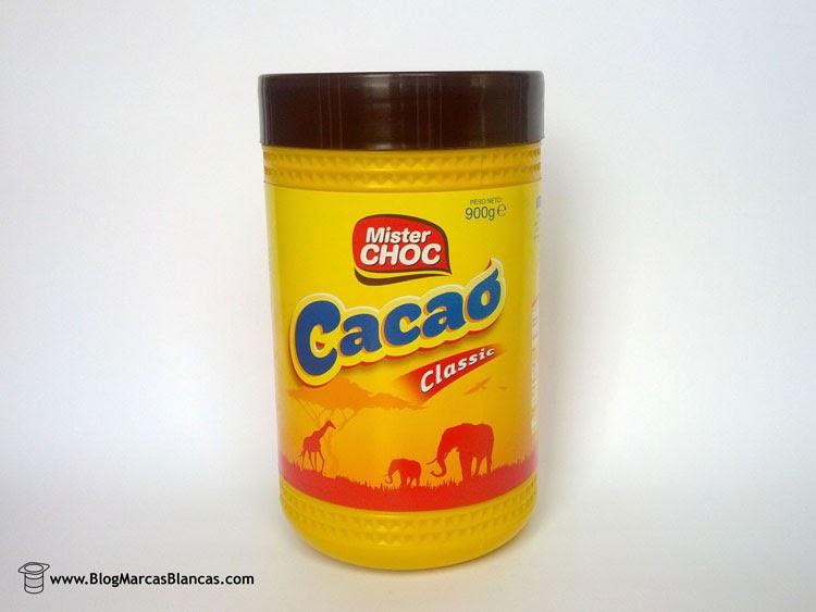 Cacao soluble Mister Choc de Lidl