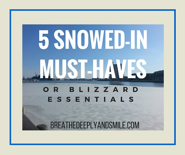 5 Friday Favorites: 5 Snowed-In Must-Haves (or Blizzard Essentials)