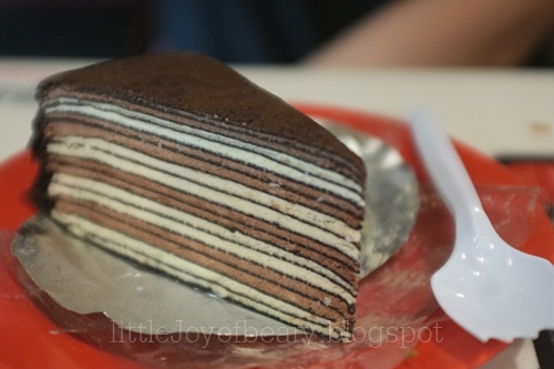 Chocolate Mille Crepe Cakes And Bottomless Bubbly
