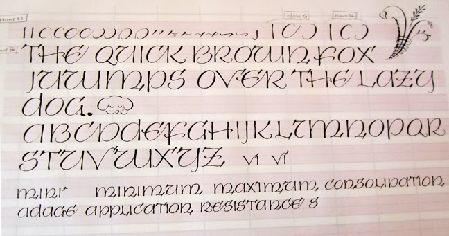 Deann Singh Calligraphy October 28 2013 Pointed Pen