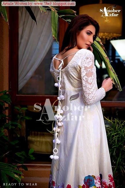 Sanober Afzar Winter Dress Pictures