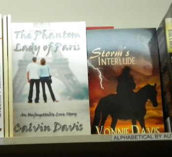 OUR BOOKS ON THE SHELF AT GIVENS BOOKSTORE IN LYNCHBURG, VA