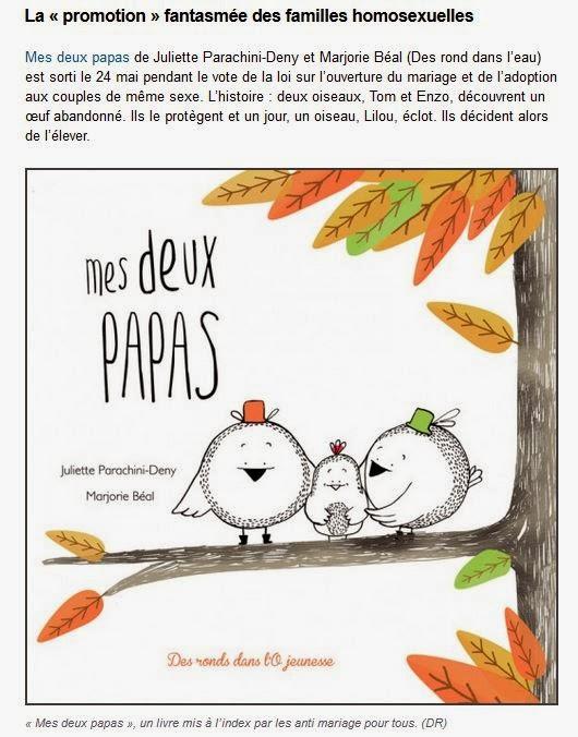 Lire l'article sur Rue 89 - Livres jeunesse : une trop sage image de la famille (1)