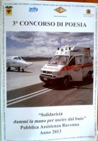 3 Concorso di Poesia-Pubblica Assistenza Ravenna