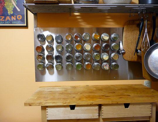 C mo hacer un especiero magn tico whole kitchen - Como hacer un especiero ...