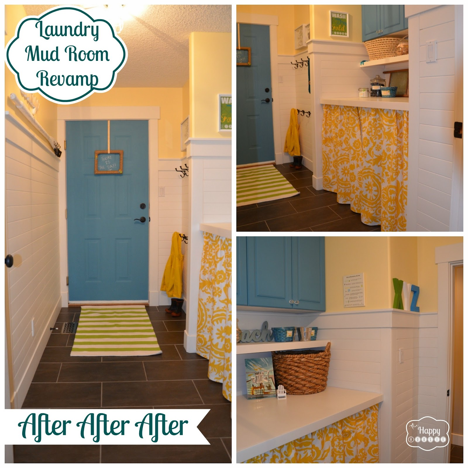 Laundry Mud Room Part - 46: We Managed To Totally Change The Look Of Our Laundry/mud Room For A Mere  $340 (we Already Owned The Laundry Machines:) And I Couldnu0027t Be More  Pleased With ...