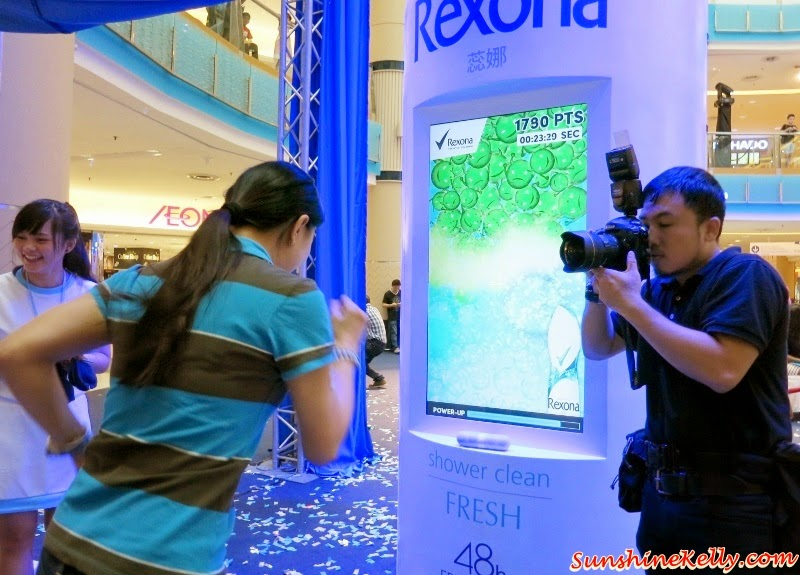 Rexona Run, Rexona Spray for Women, Freshprotect, Rexona Spray for Women Launch, Rexona Freshness Challenge, Rexona, Deodorant, Sunway Pyramid, Power Dry, Free Spirit, Whitening, Shower Clean, Passion