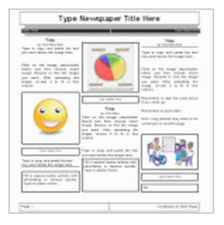 5 handy google docs templates for creating classroom newspapers click to use the template and then save it with a new name for every group let students replace the words with their own pronofoot35fo Gallery