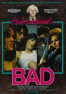 Bad - DVD Review (Andy Warhol's last theatrical release)