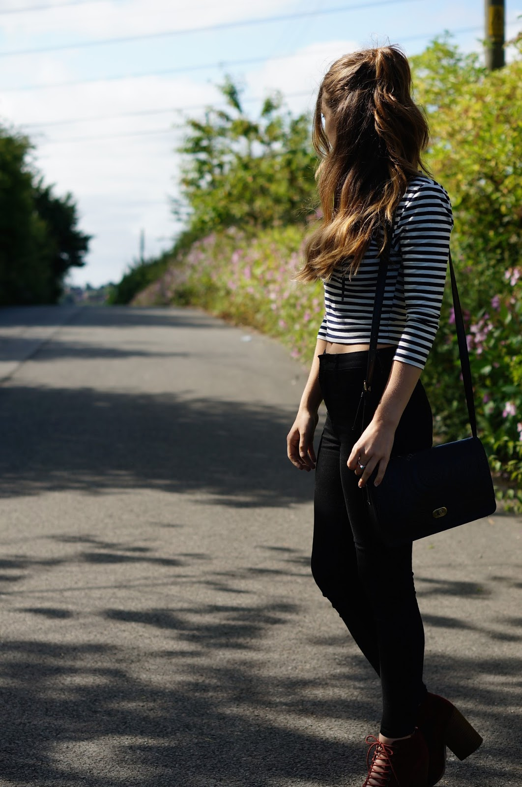 topshop, lace-up top, trends, outfit, ootd, fashion blogger, fashion dough,