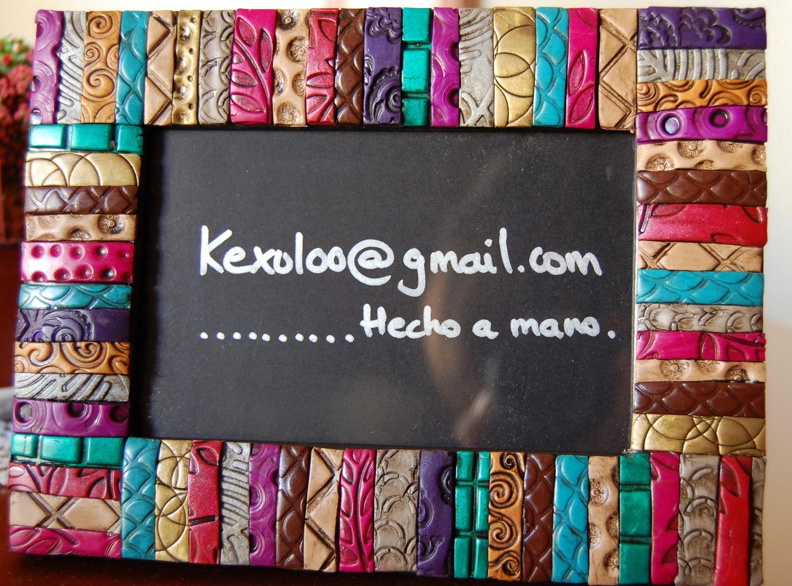 KeXuloo Artesanía: Marcos texturas envejecidas