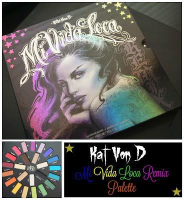 Kat Von D Mi Vida Loca Remix Eyeshadow Palette